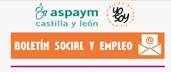 Boletín social y de empleo
