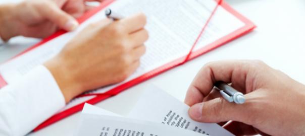 Hojas de papel Seguridad Social Informe de vida laboral